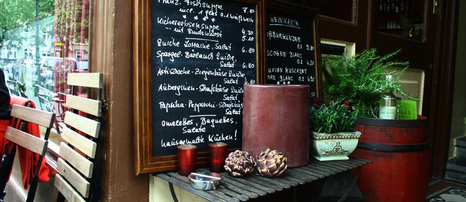 Restaurant Düsseldorf: petit rouge