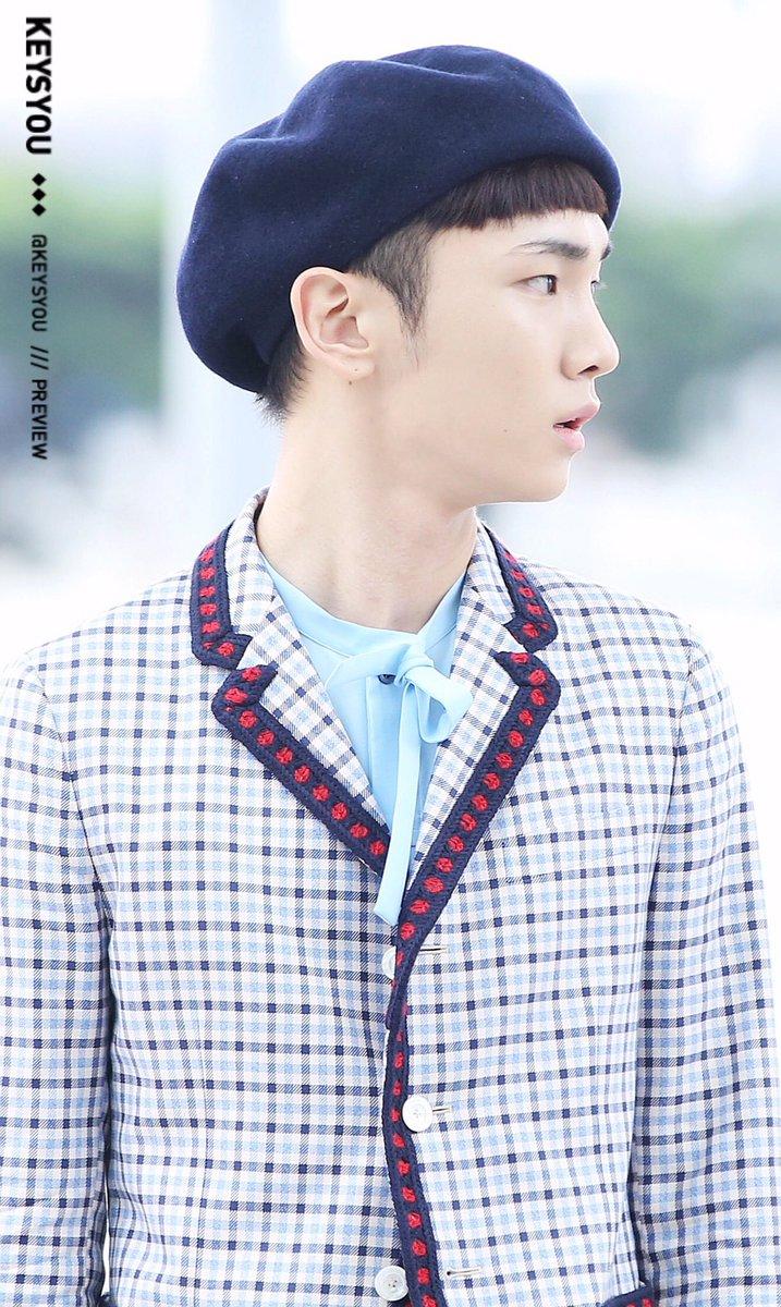 [IMG/160715] Jonghyun, Key @ Aeropuerto Incheon hacia Japón. SojZNcSg