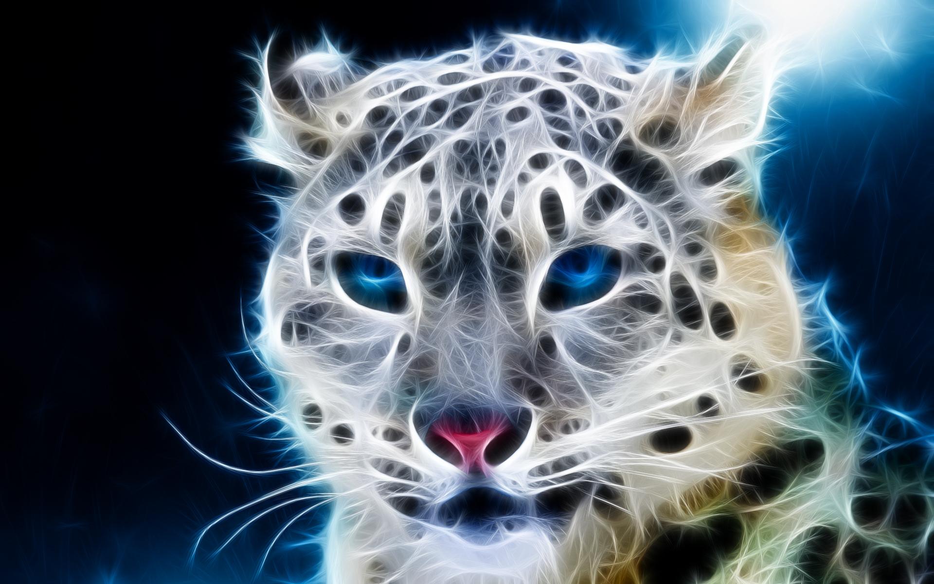 科幻的高清头像老虎