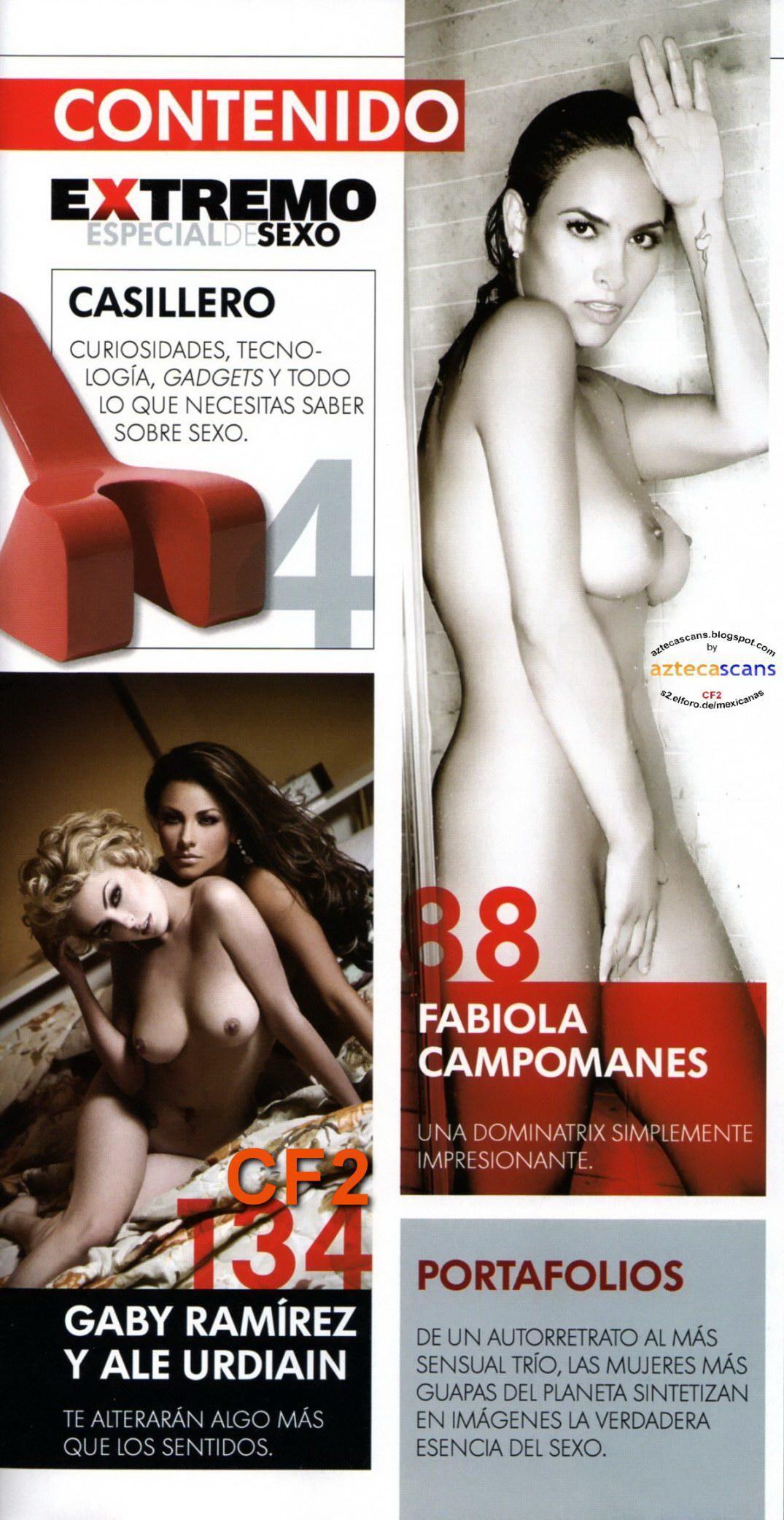 Fabiola campomanes revista h extremo pdf