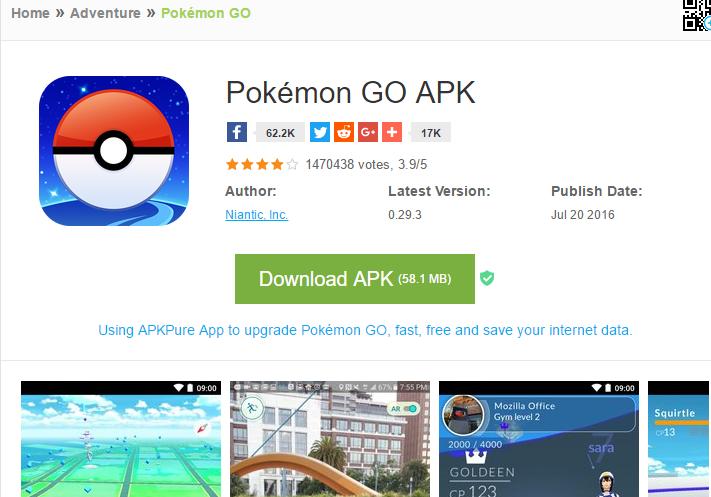install xapk di android_pokemon go