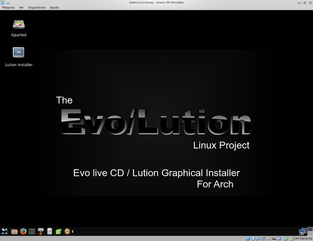 Evo  Lution  instalar Arch Linux en modo gr u00e1fico   Taringa!