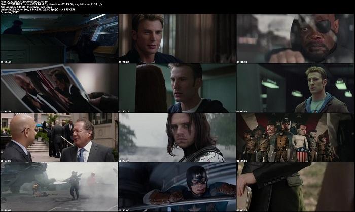 Capitán América: El soldado de invierno [DVDRip Acción Castellano 2014 Avi Oboom, Uploadable, Freakshare]