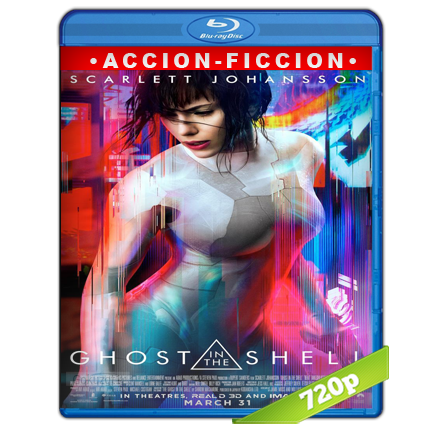 Ghost In The Shell (2017) BRRip 720p Audio Trial Latino-Castellano-Ingles 5.1