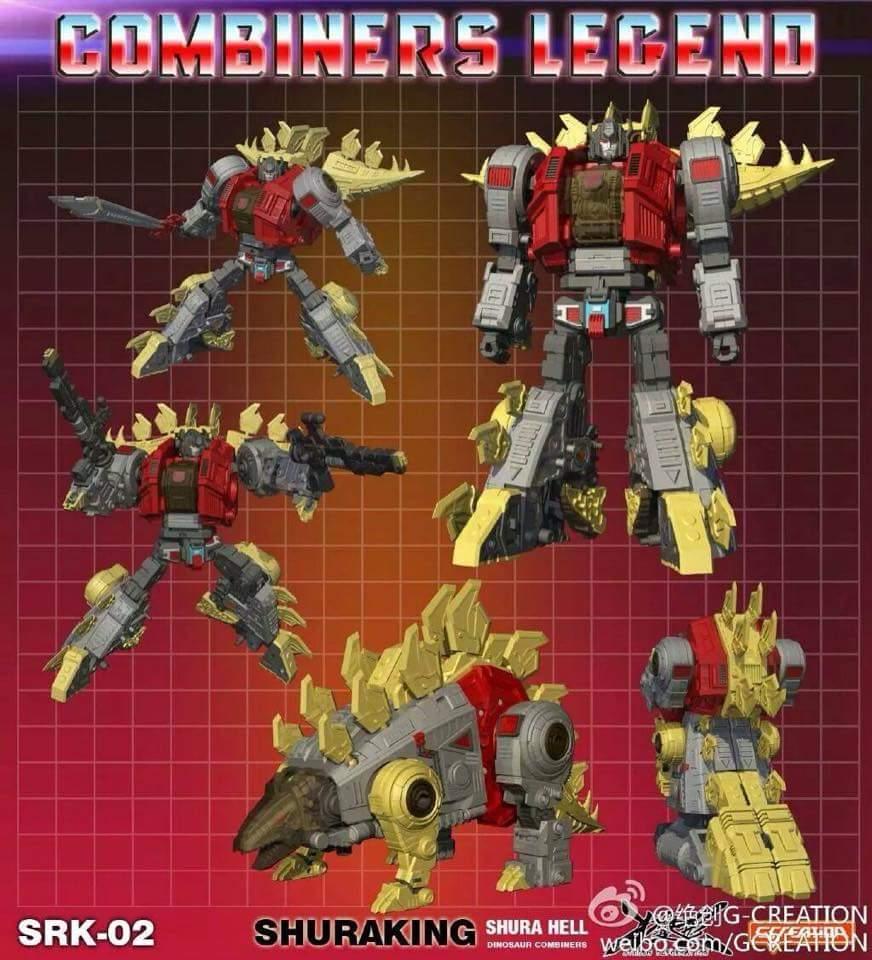 [GCreation] Produit Tiers - Jouet ShuraKing - aka Combiner Dinobots WL5KLPIU