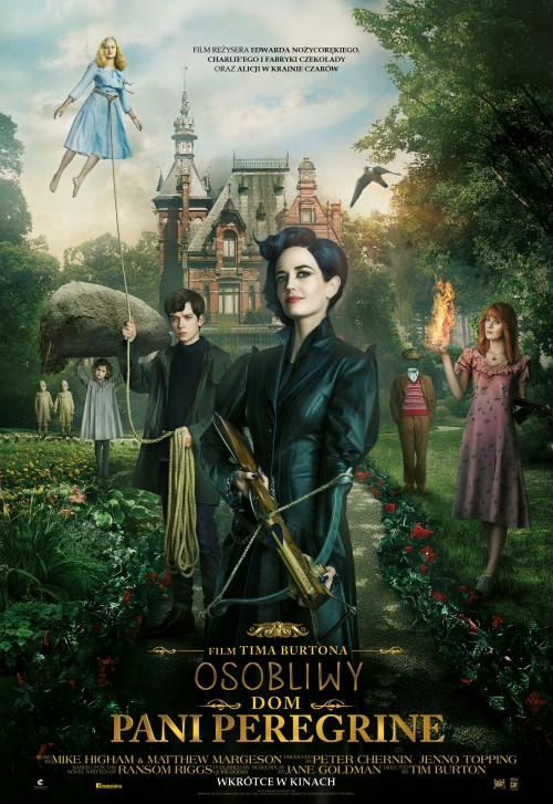 Osobliwy dom Pani Peregrine / Miss Peregrine's Home for Peculiar Children (2016)  PLDUB.BDRip.Xvid-K12 / Dubbing PL