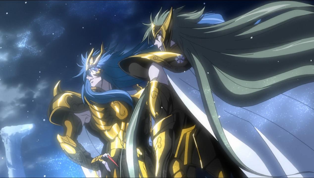 Screenshots Gallery Gold Saint Degel Aquarius The Lost Canvas