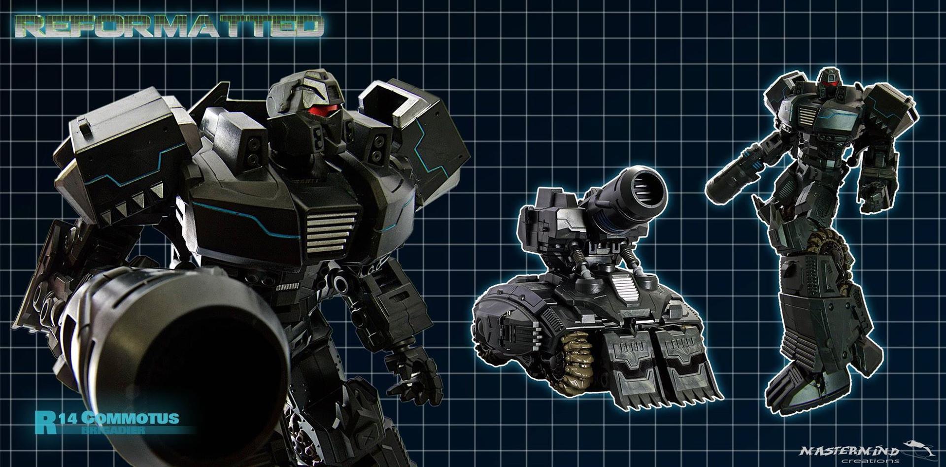 [Mastermind Creations] Produit Tiers - Reformatted R-13 Spartan (aka Impactor) des Wreckers + R-14 Commotus (aka Turmoil) - IDW R2DKf7zE