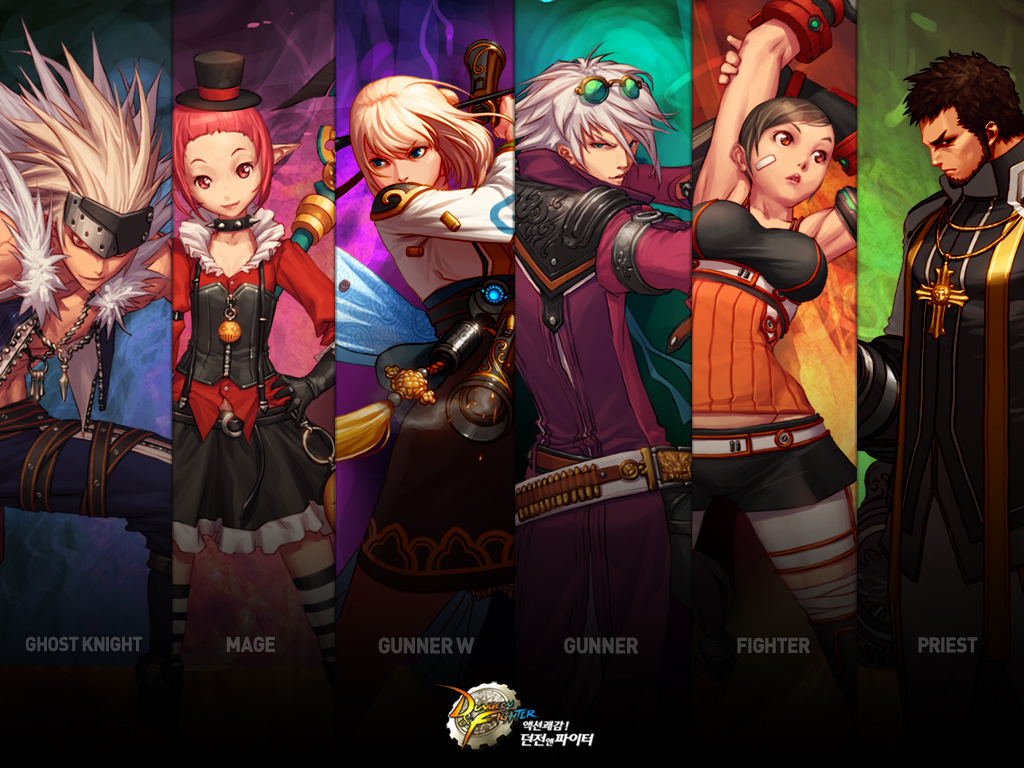Dungeon Fighter Online anime game