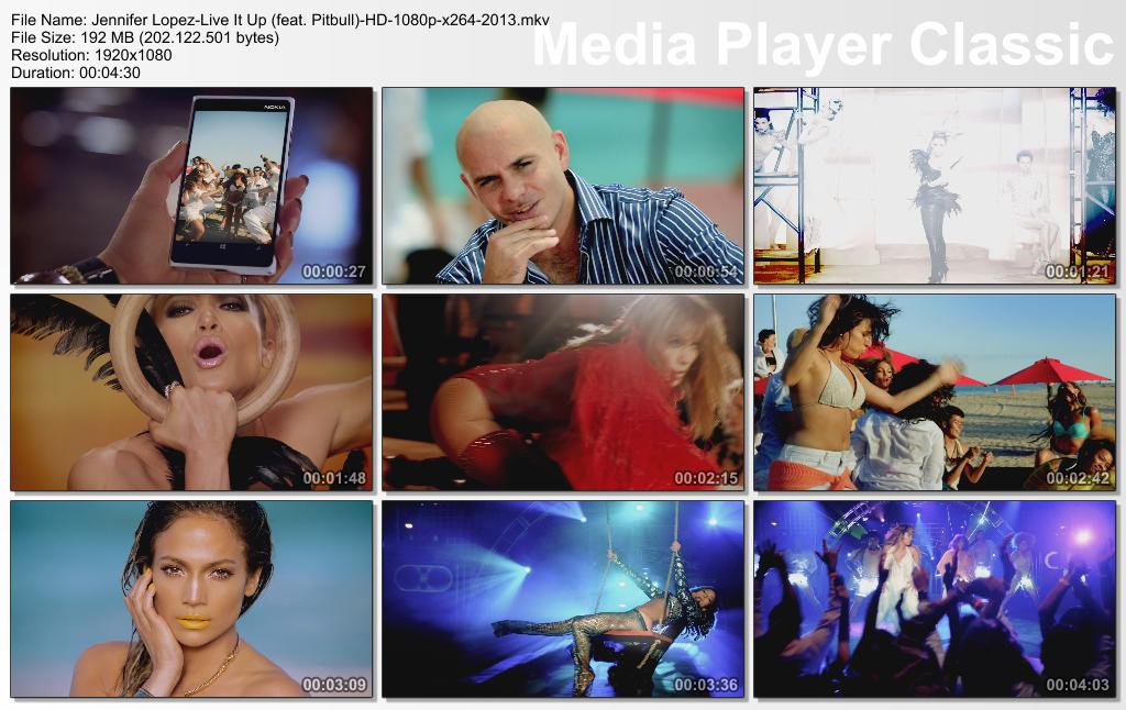 Thread: Jennifer Lopez-Live It Up (feat. Pitbull)-HD-1080p_720p_-x264 ...