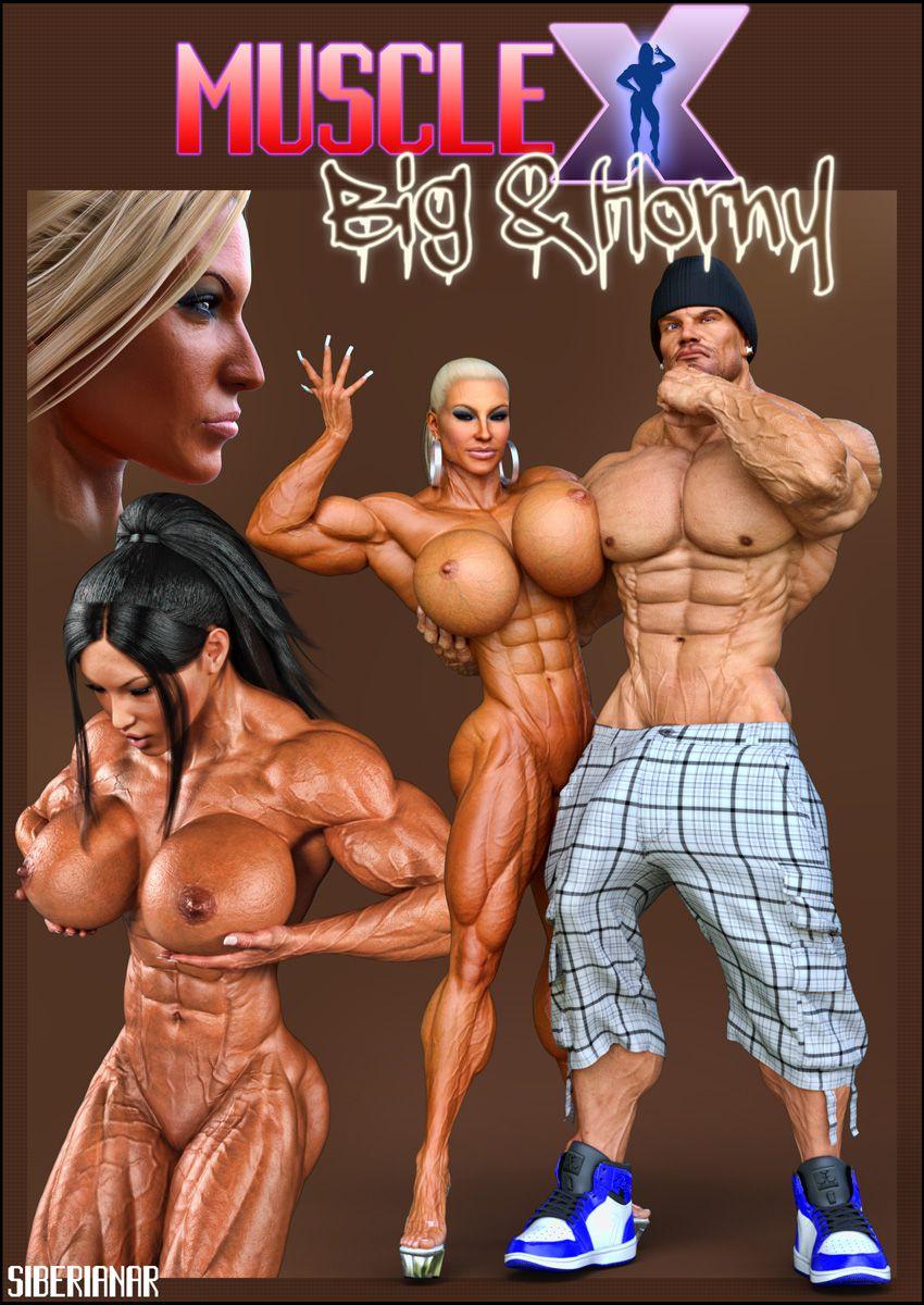 muscular X