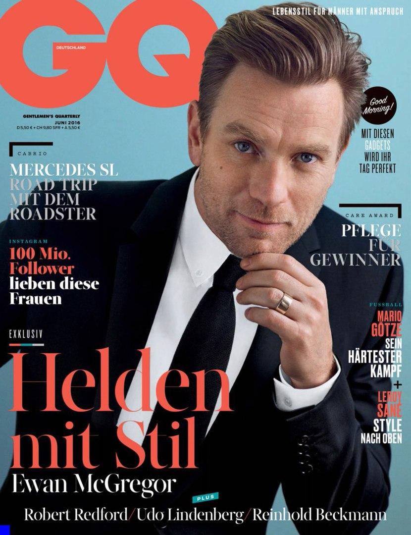 Gq Germany June  Ef Bc Aewan Mcgregor By Hunter Gatti