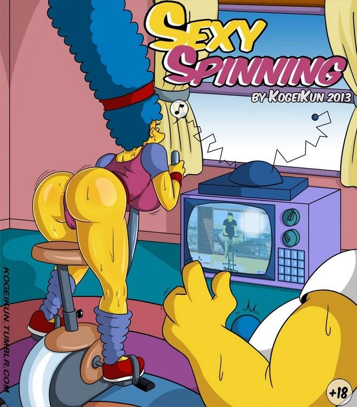 comic porno marge simpson