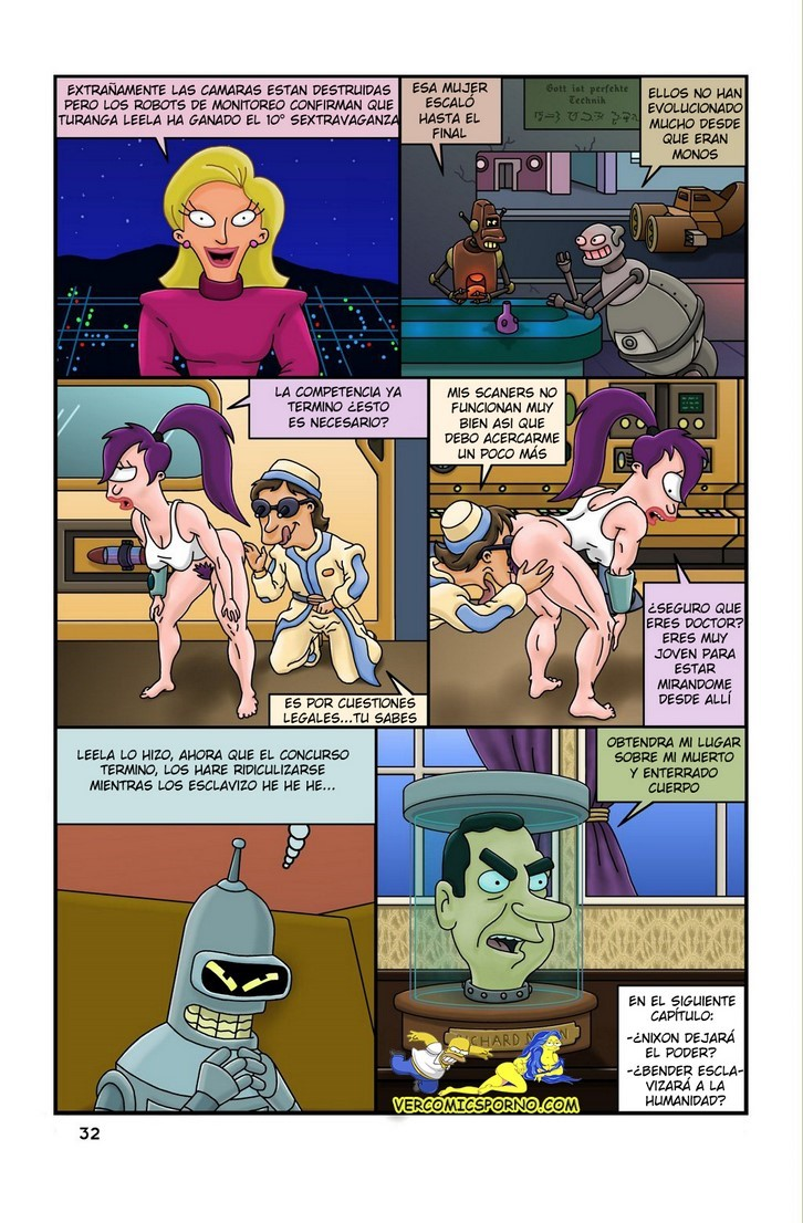 Historieta XXX en Futurótica