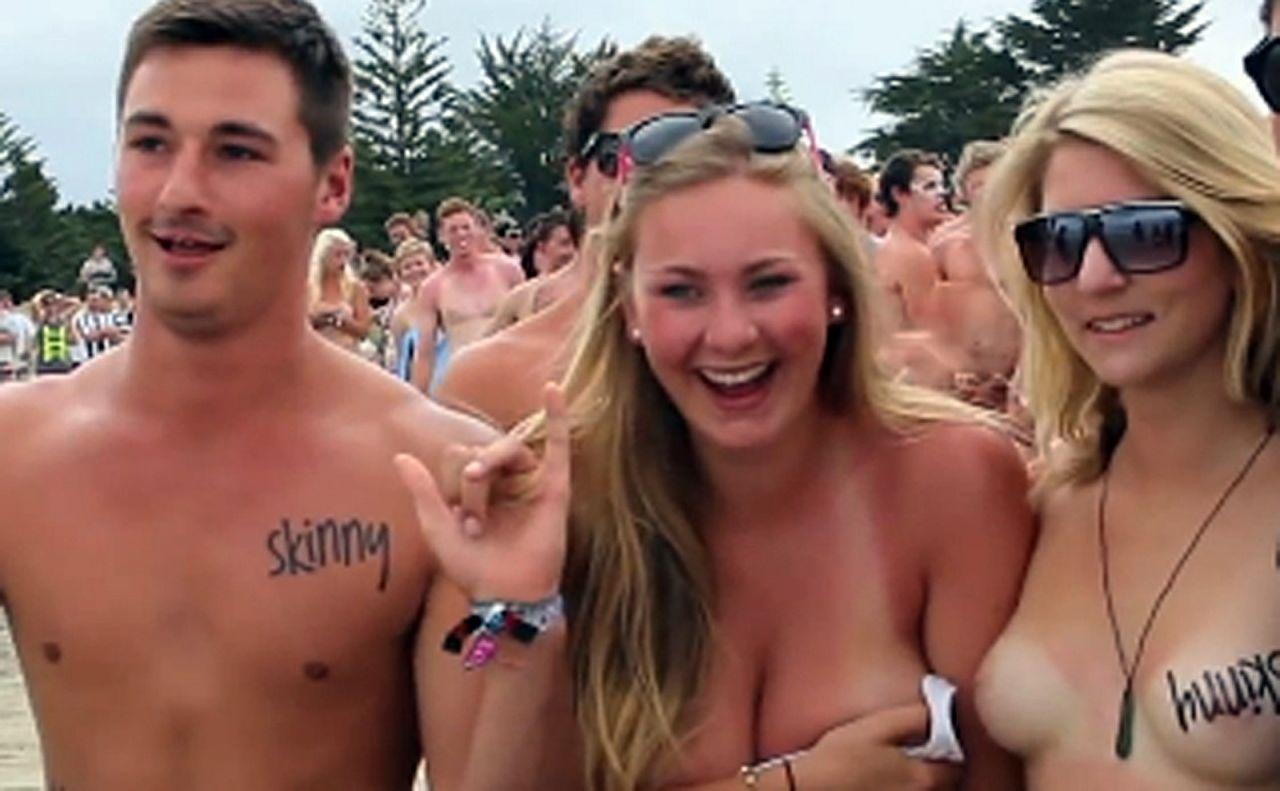Playas nudistas en nosotros