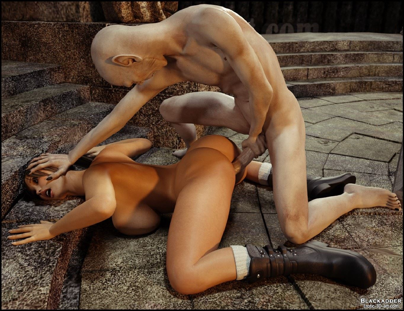 Images of 3d monster sexlara croft fucked  erotic clips