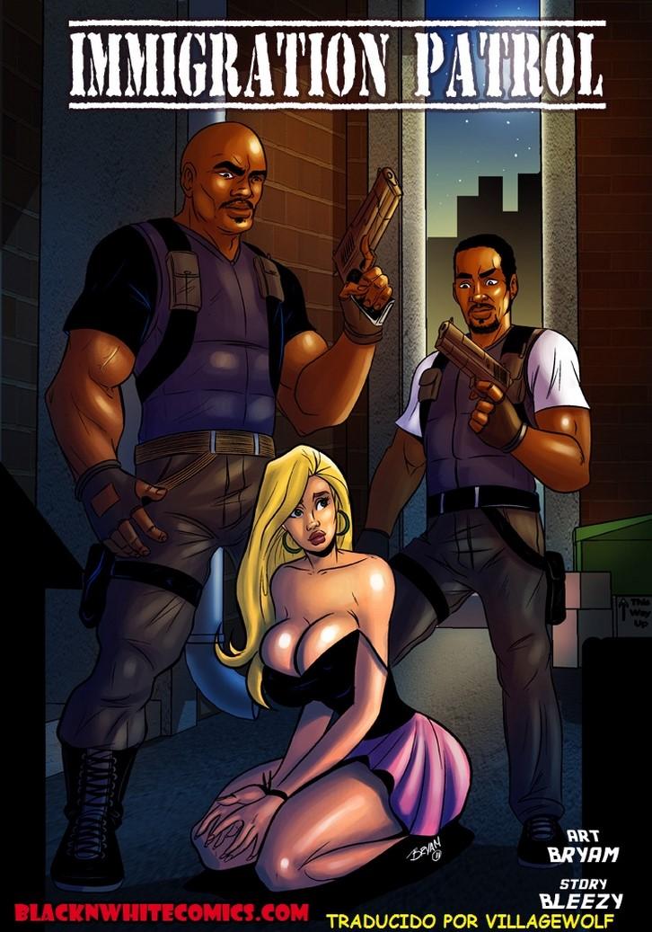 comic porno immigration patrol