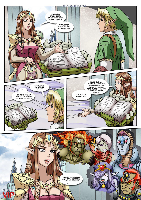 La Princesa Zelda le chupa la polla a su amigo PORNO