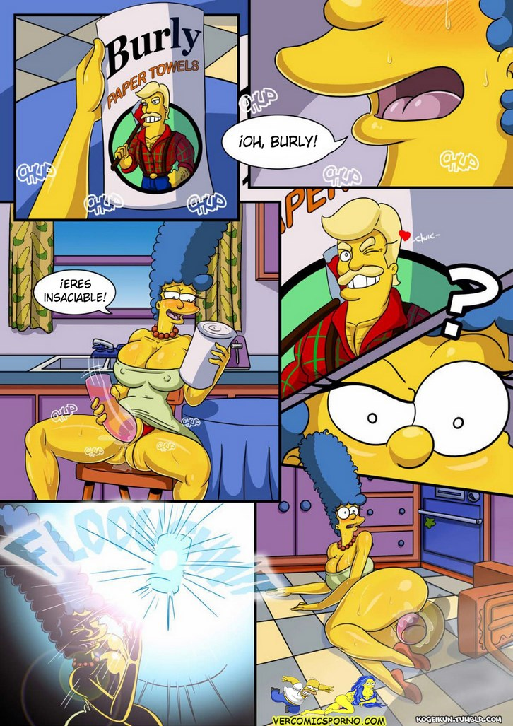 Marge simpson sexy comicporno was and