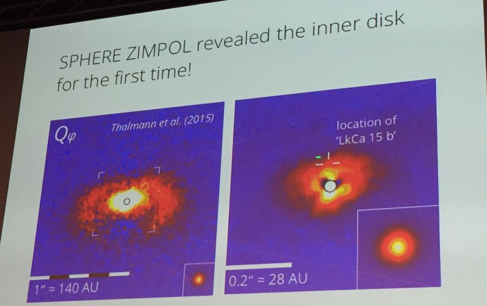 Accreting protoplanets in the LkCa 15 transition disk CSCGnCrV