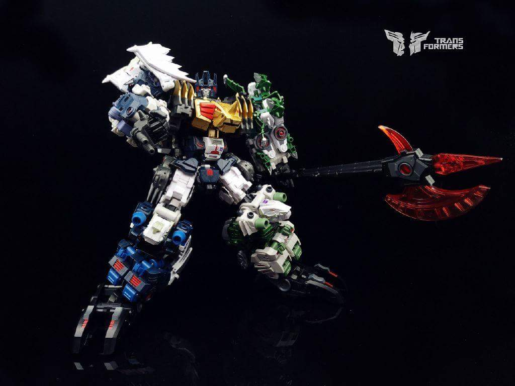 [FansProject] Produit Tiers - Jouet Saurus Ryu-oh aka Dinoking (Victory) | Monstructor (USA) - Page 2 58buGQ4P