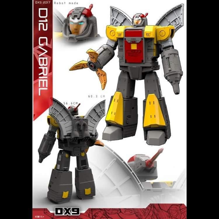 [DX9 Toys] Produit Tiers - Jouet D-12 Gabriel et D-12X Gabriel-X - aka Omega Supreme  et Omega Sentinel (Gardien de Cybertron) IUwsgUml