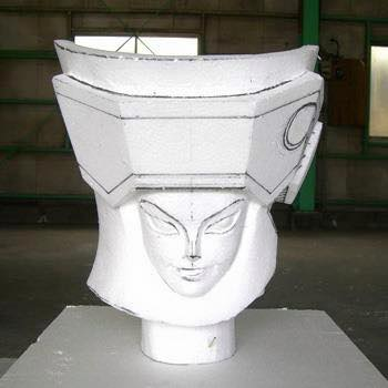 Processo de criação da Armadura de Gemeos para a exibição de Pachinko ZgDfUcAo