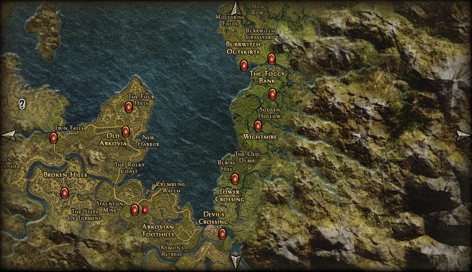 The world map is really ugly grim dawn forums post the world map as an example id be thankful there is a good picture of it on the main site under grim dawn game guide gameplay exploration sciox Gallery