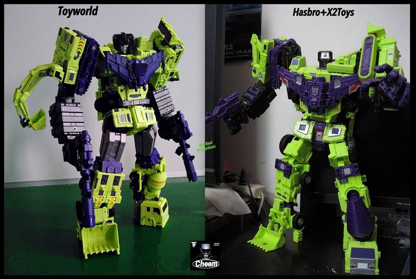 [Toyworld] Produit Tiers - Jouet TW-C Constructor aka Devastator/Dévastateur (Version vert G1 et jaune G2) - Page 4 AoLlDMKS