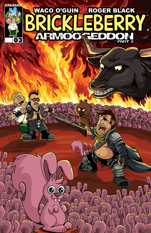 Brickleberry #1-4 (2016) Complete