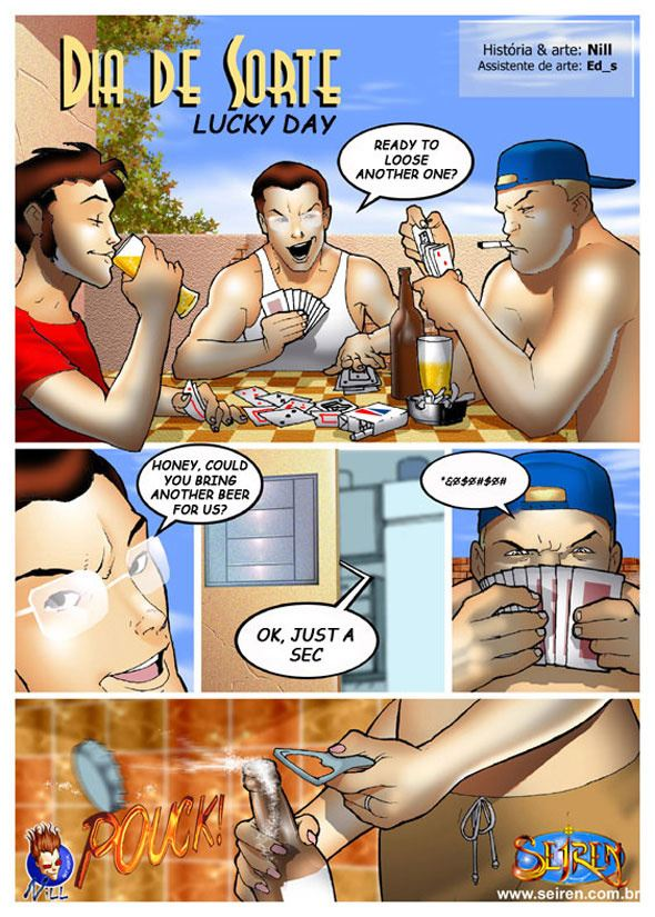 Порно комиксы про жен