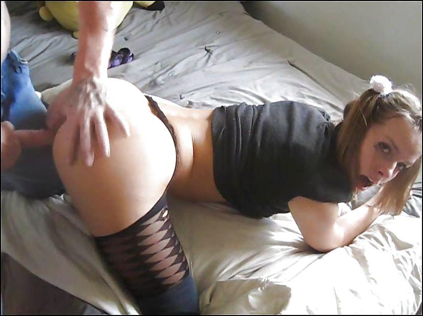 Sexy round juicy ass