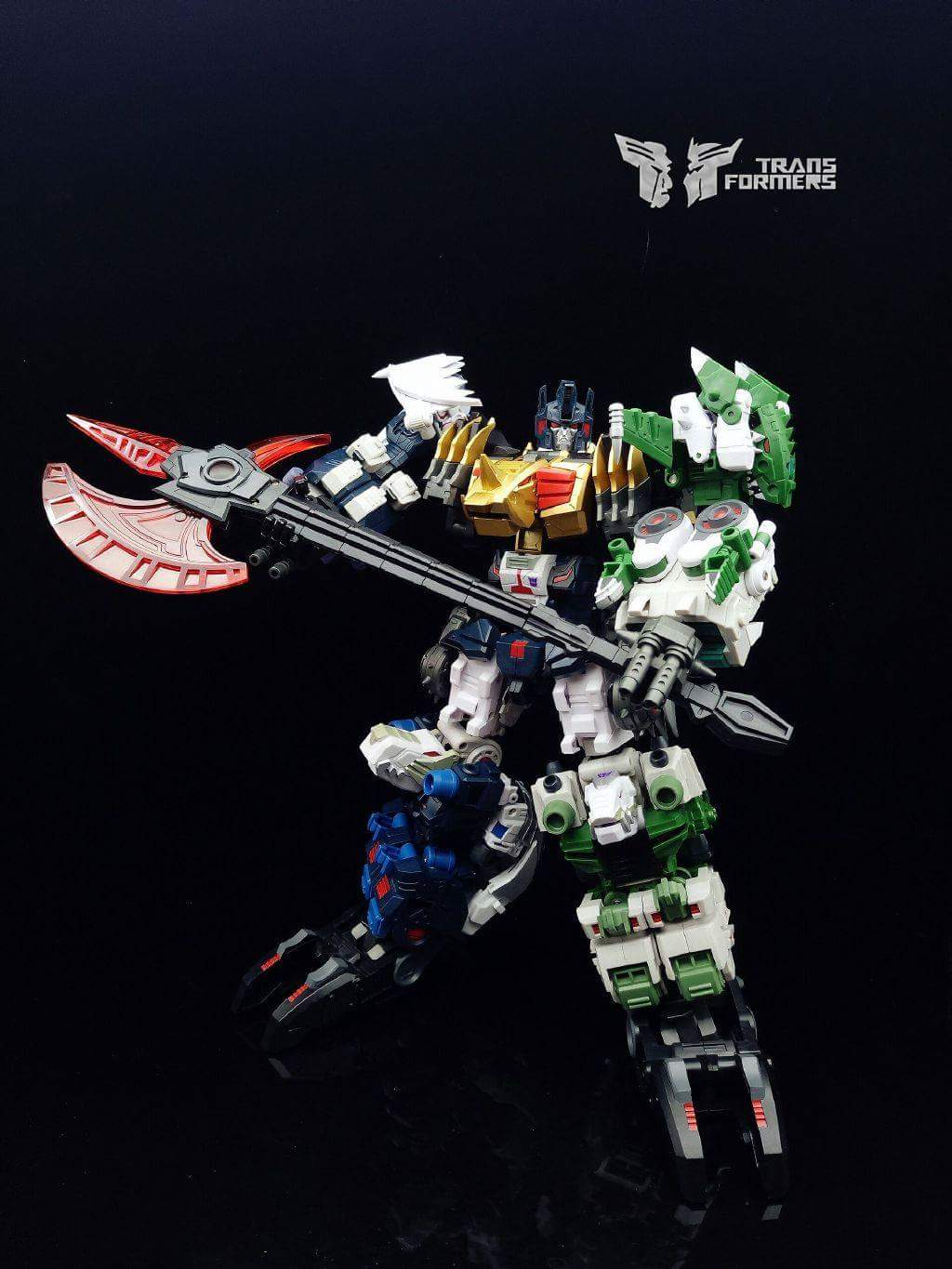 [FansProject] Produit Tiers - Jouet Saurus Ryu-oh aka Dinoking (Victory) | Monstructor (USA) - Page 2 WGQQJ7cX