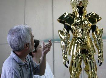 Processo de criação da Armadura de Gemeos para a exibição de Pachinko KxKVh1sG