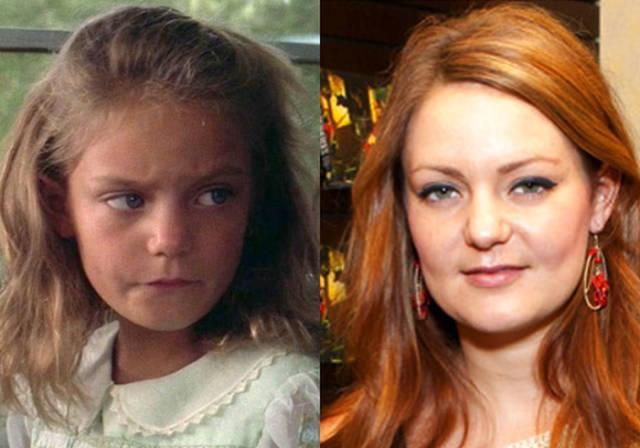 Como luce la niña de Forrest Gump, hoy.