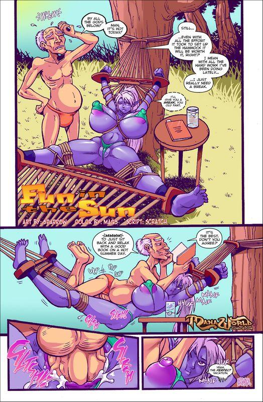 mana world comics