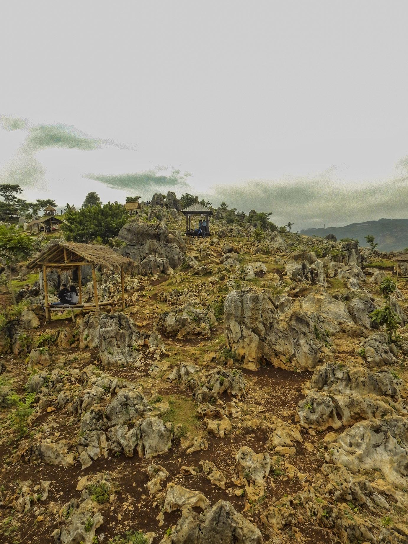 stone garden yang sering menjadi objek foto instagram