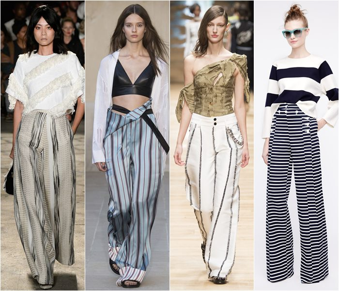 Striped pants spring/summer 2016