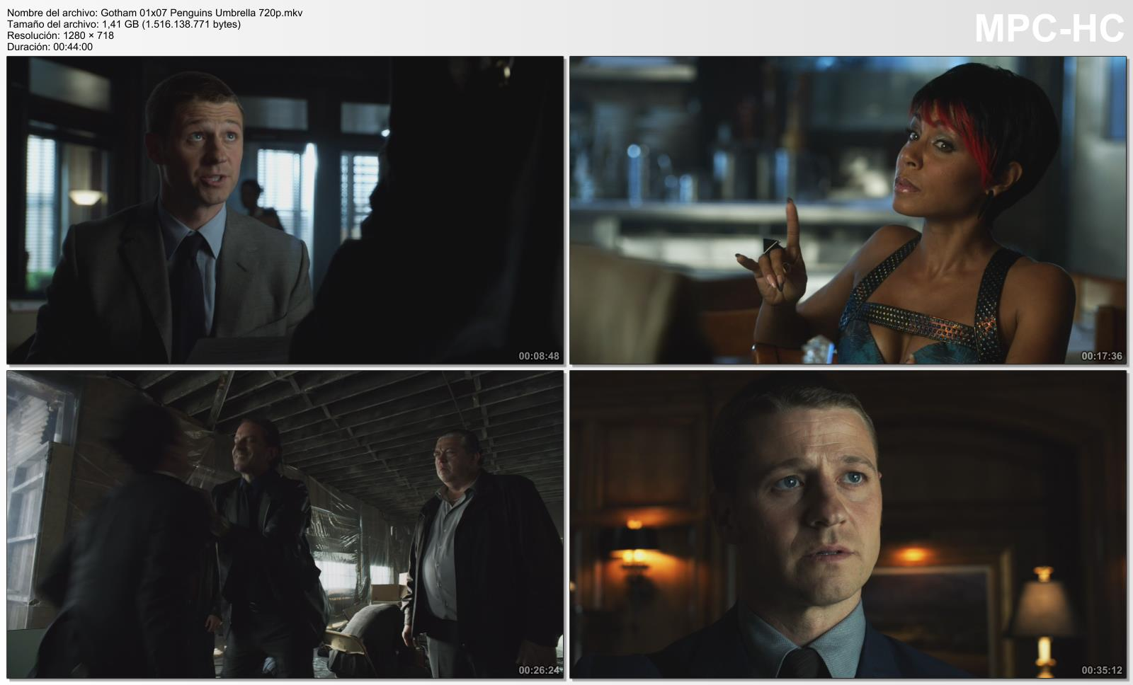 Gotham temporada 1 7 16 720p hdtv identi Gotham temporada 3 espanol