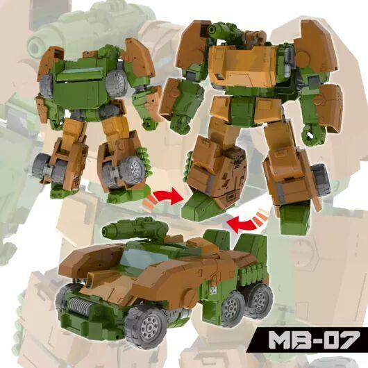 [FansHobby] Produit Tiers - Master Builder MB-07 Gun Buster - aka Roadbuster/Cahot des Wreckers IDW 9rFkC4wZ