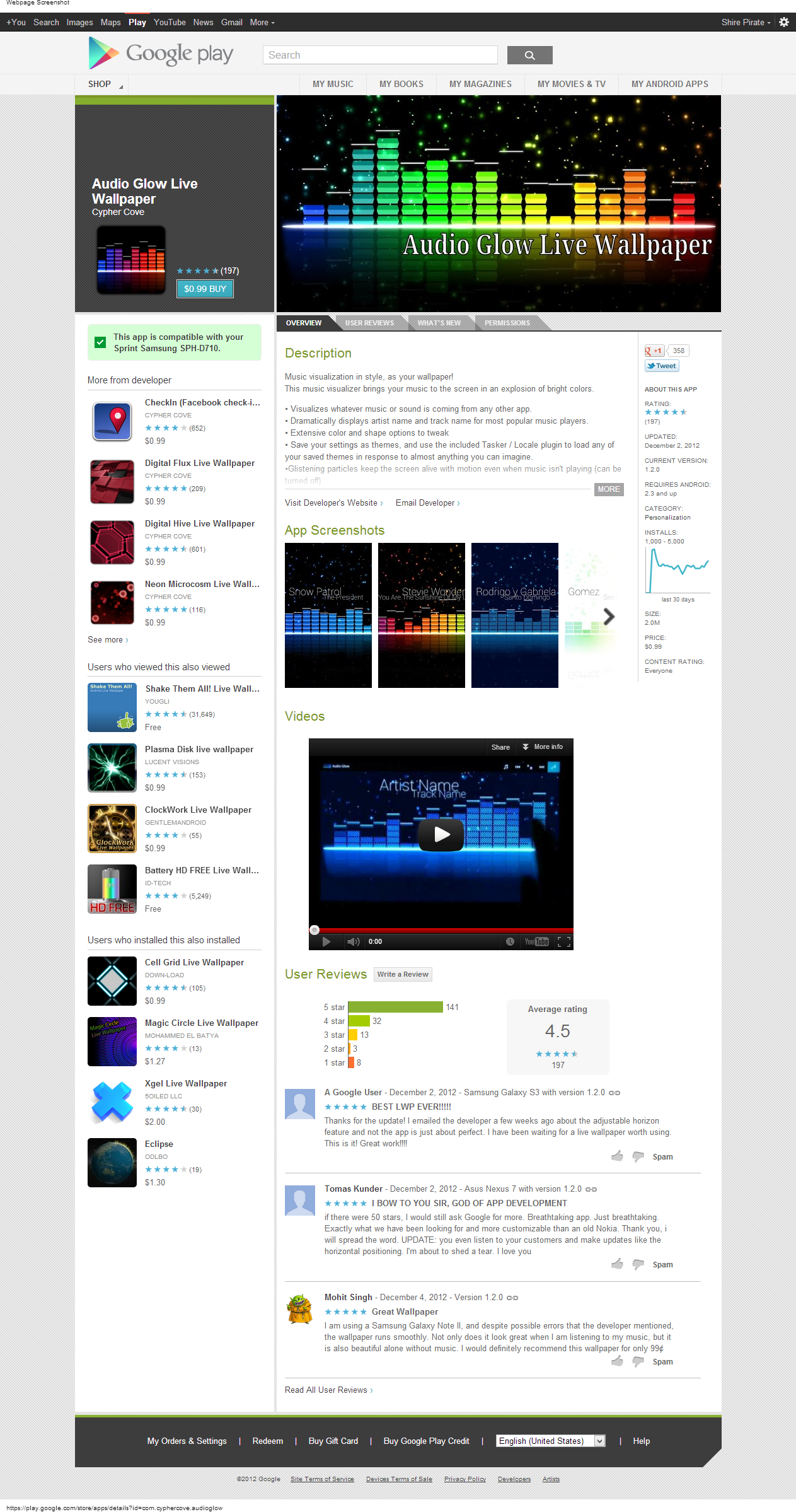 Audio Live Glow Wallpaper Apk : Audio Glow Live Wallpaper v1.2.0 AnDrOiD (download torrent) - TPB