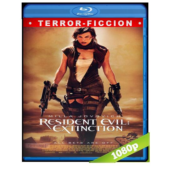 Resident Evil 3 La Extinction HD1080p Lat-Cast-Ing 5.1 (2007)