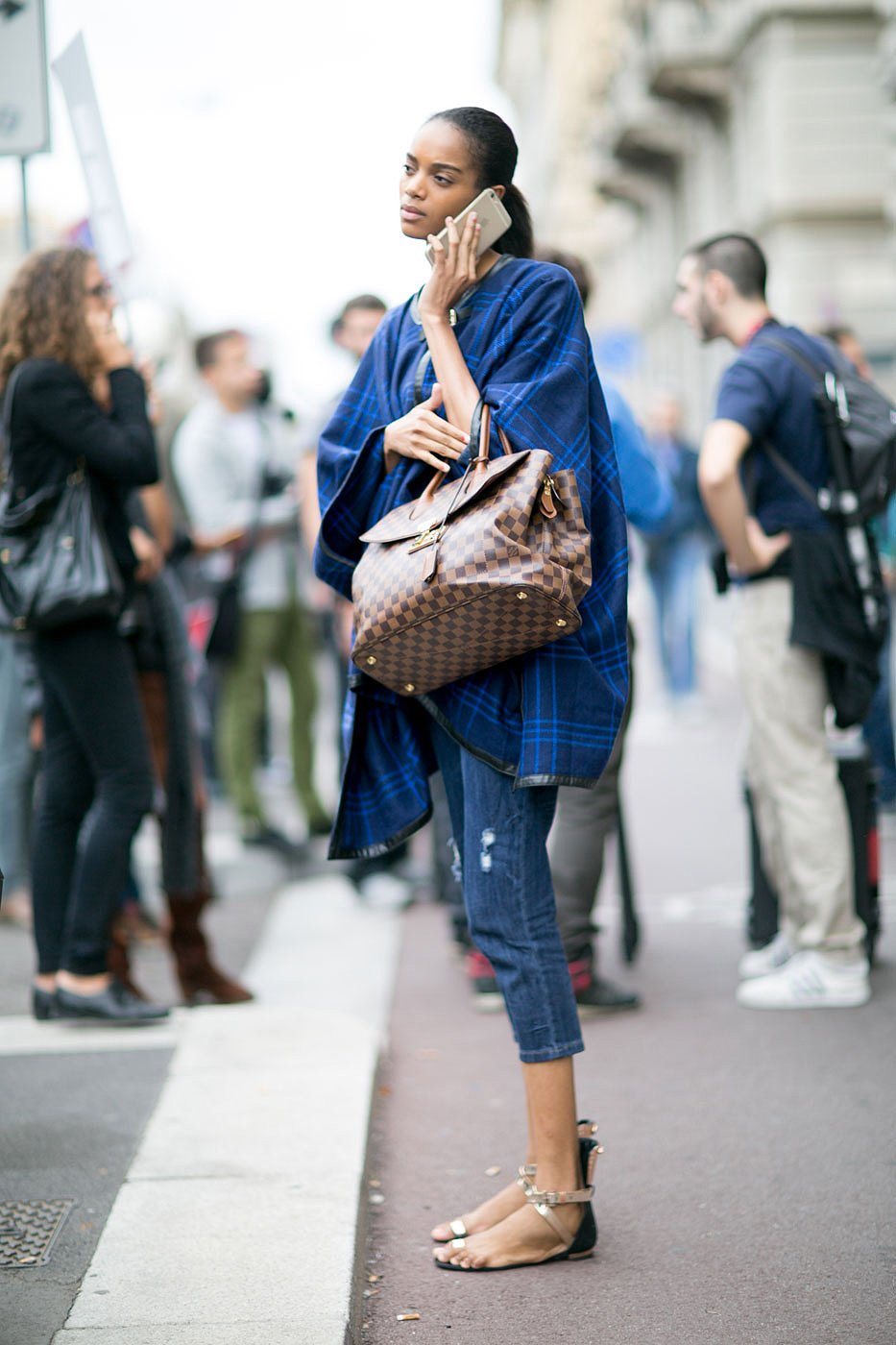How To Wear Cropped Jeans Street Style From New York