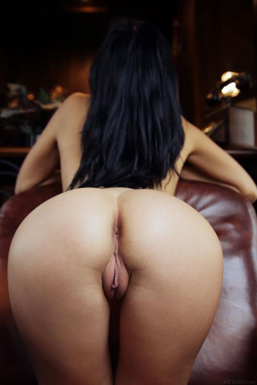 Licking an anus