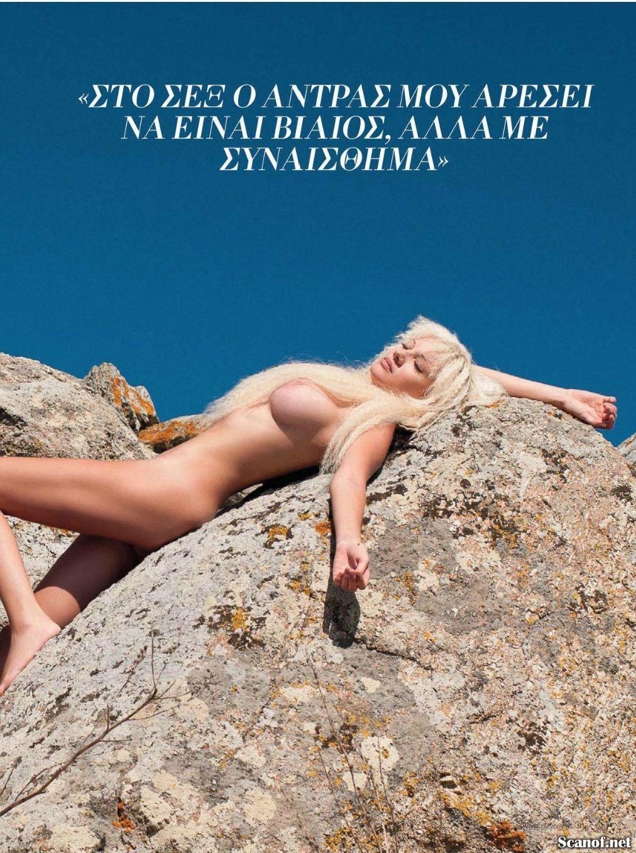 Юлия Александрату (Julia Alexandratou) голая, фото в журнале Playboy Греция, апрель 2012