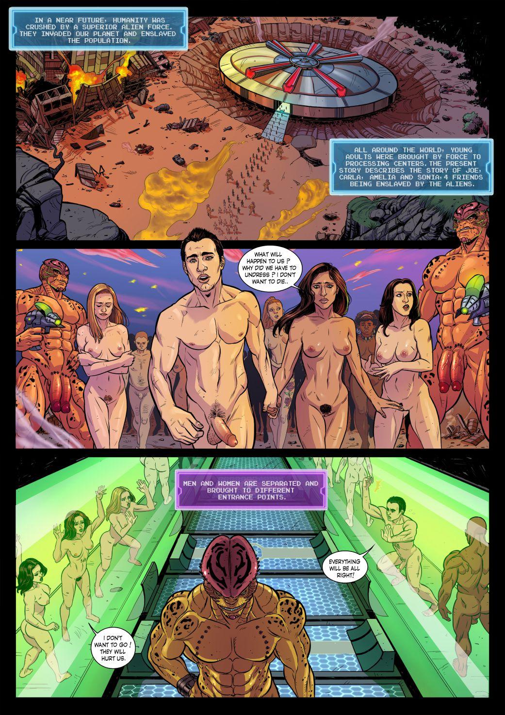Алиенс порн комиксы