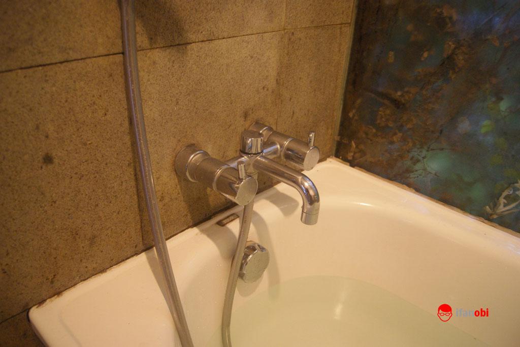 air hangat dan dingin di Tea Garden Resort