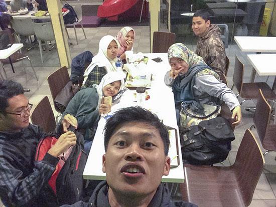 MCD jalan Gatot Subroto Bandung
