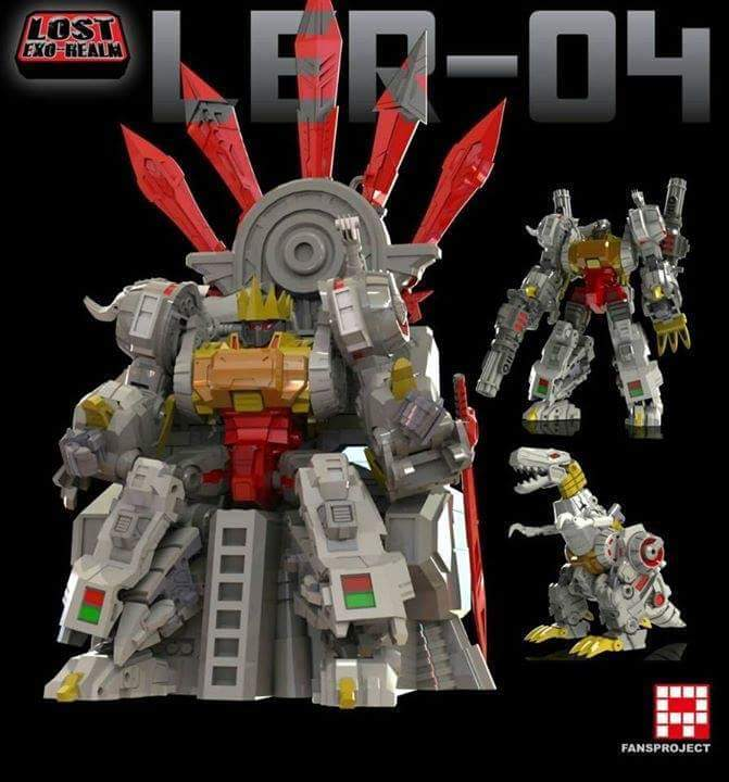 [FansProject] Produit Tiers - Jouets LER (Lost Exo Realm) - aka Dinobots - Page 2 RUmxT3oZ