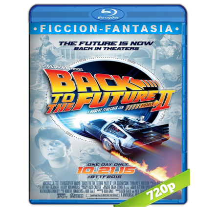 Volver Al Futuro 2 (1989) HD720p Audio Trial Latino-Castellano-Ingles 5.1